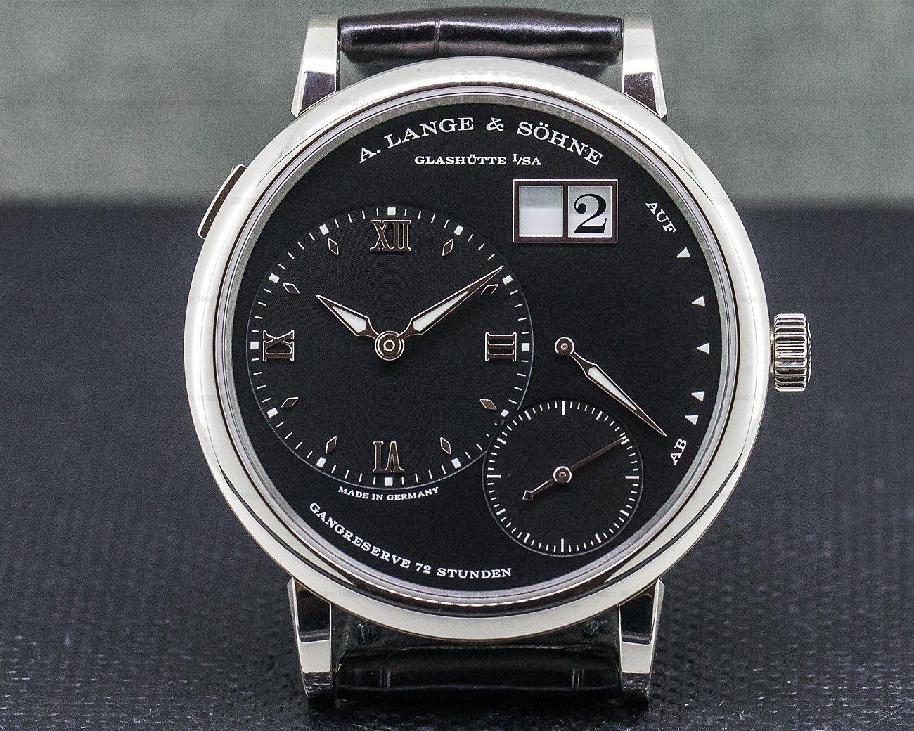 A. Lange and Sohne 117.028 Grand Lange 1 Black Dial
