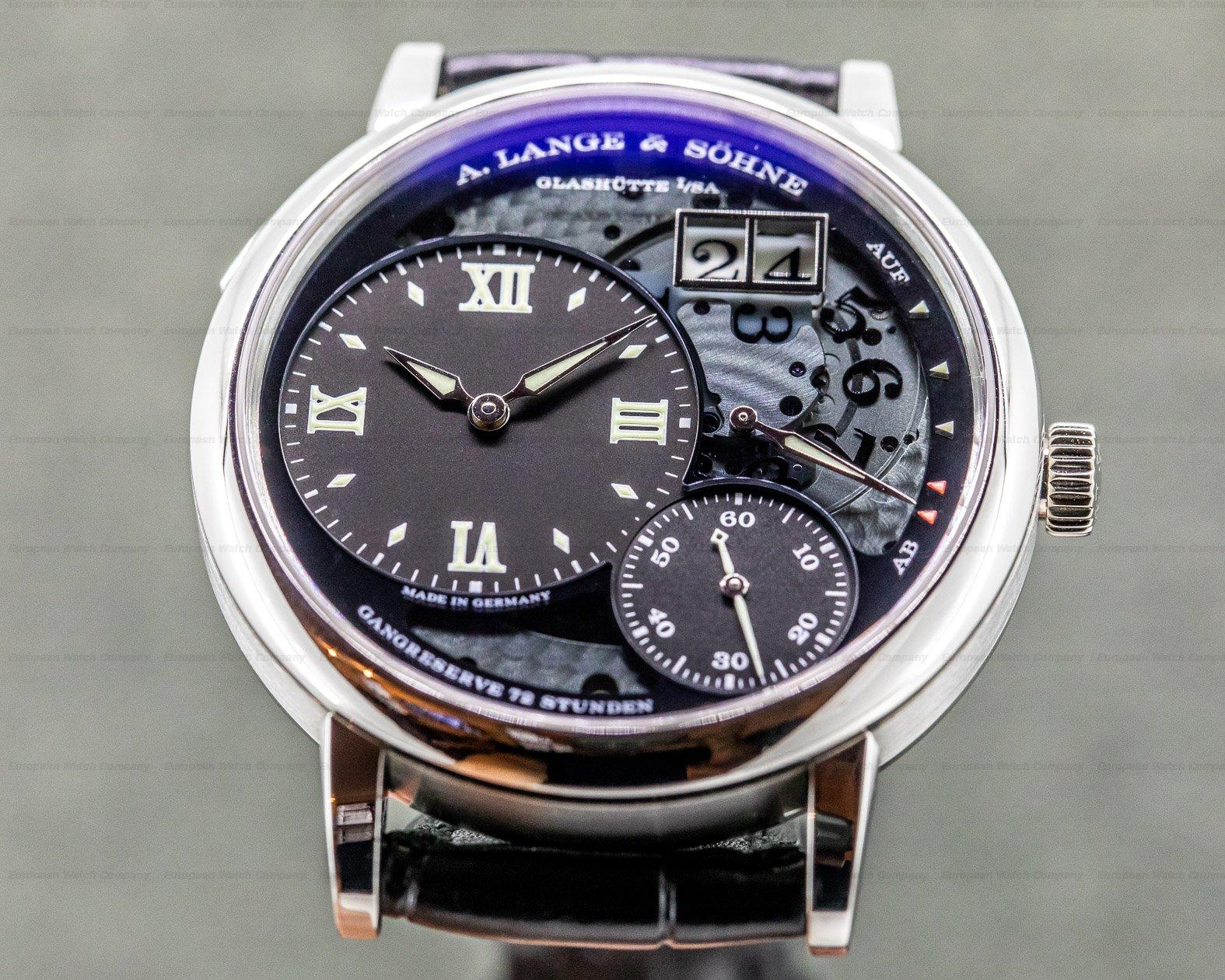 A. Lange and Sohne 117.035 Grand Lange 1 Lumen Platinum FULL SET