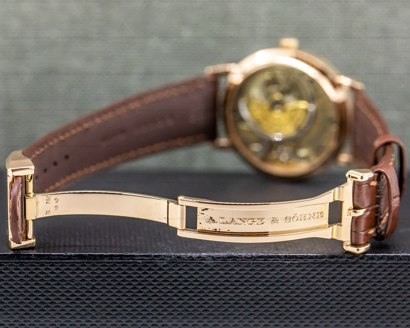 A. Lange and Sohne 303.032 1815 Automatic Sax - O - Mat 18K Rose Gold
