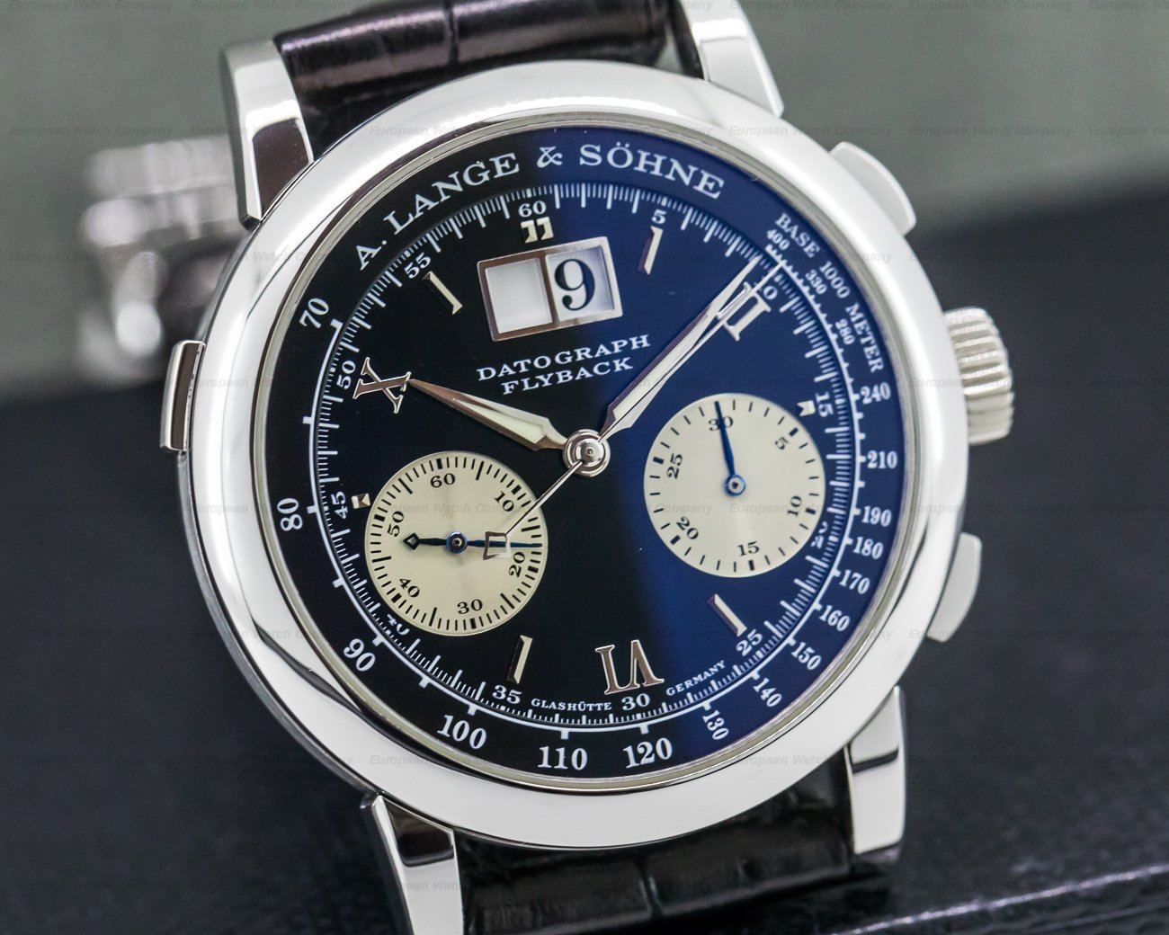 A. Lange and Sohne 403.035 Datograph Flyback Platinum