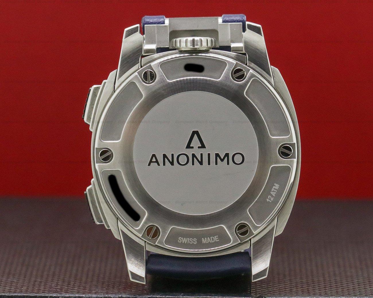 Anonimo AM-1120.01.003.A03 Militare Chrono Blue Dial SS