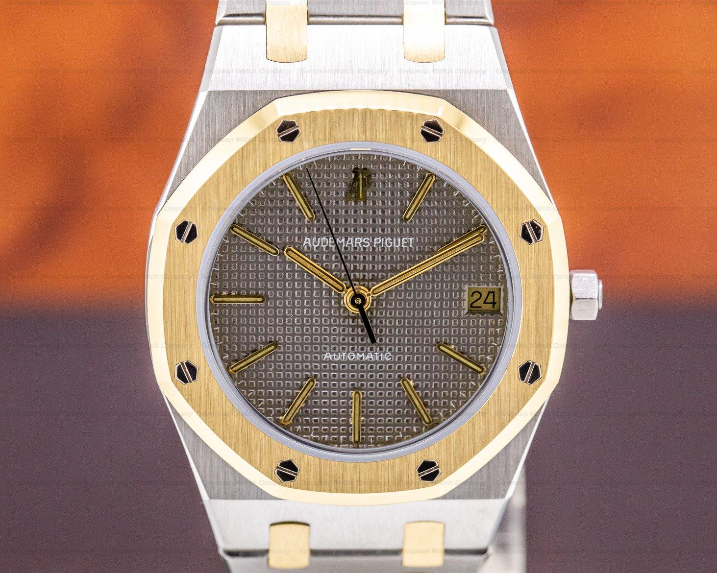 Audemars Piguet 14100SA.OO.0477SA.01 Royal Oak Automatic 18K Yellow Gold / Stainless Steel 37MM