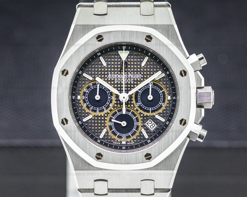 Audemars Piguet 25860ST.OO.1110ST.01 Royal Oak Chronograph Blue Dial SS / SS TROPICAL