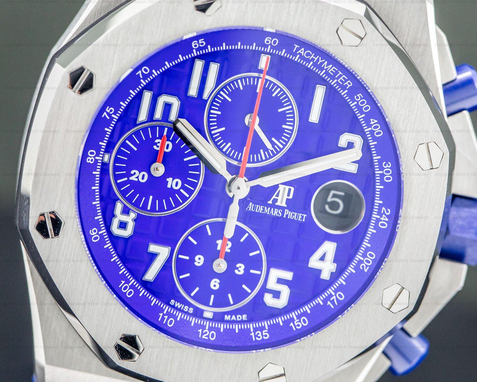 Audemars Piguet 26470ST.OO.A030CA.01 Royal Oak Offshore Blue Dial SS / Rubber
