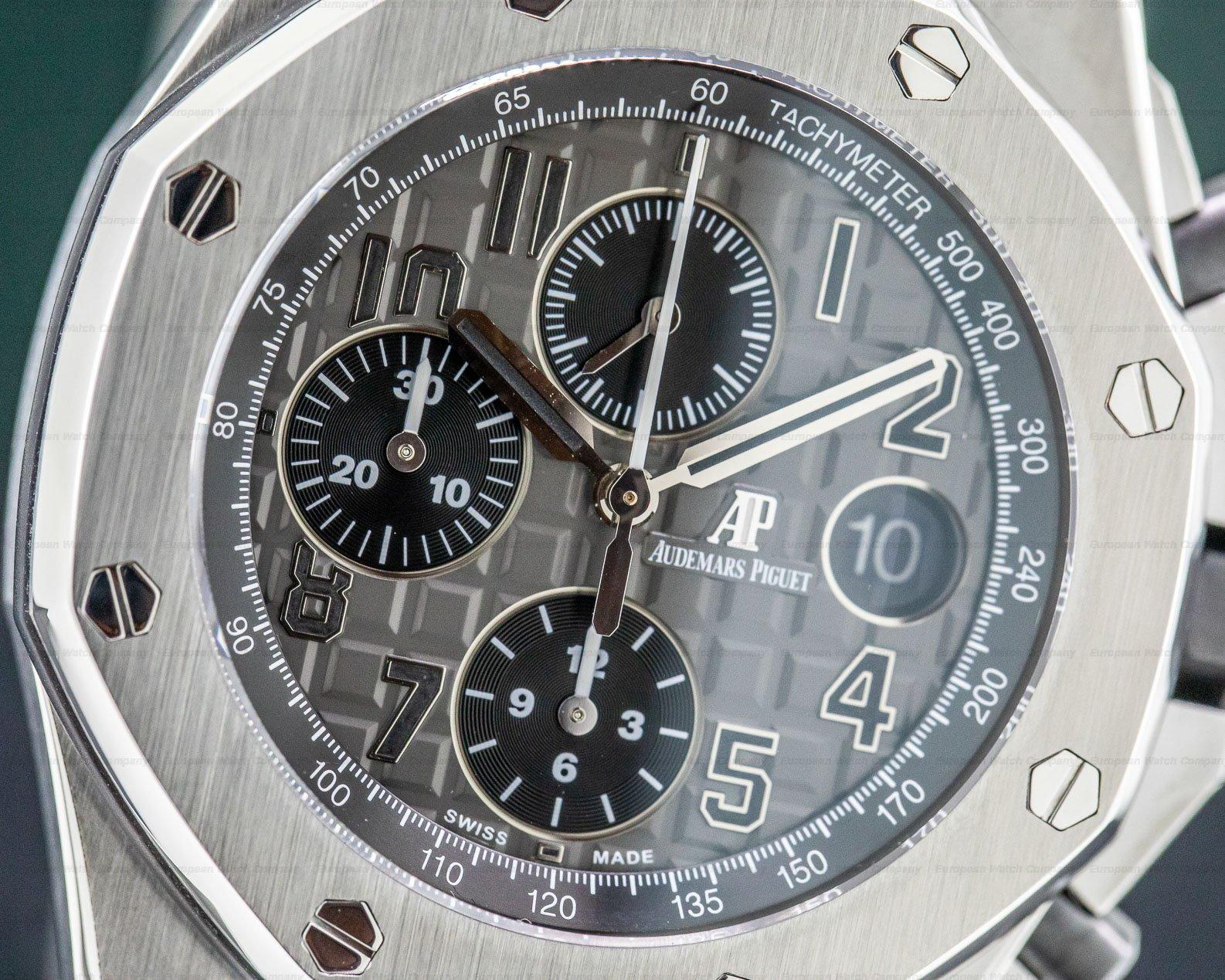 Audemars Piguet 26470ST.OO.A104CR.01 Royal Oak Offshore Slate-Grey Dial SS