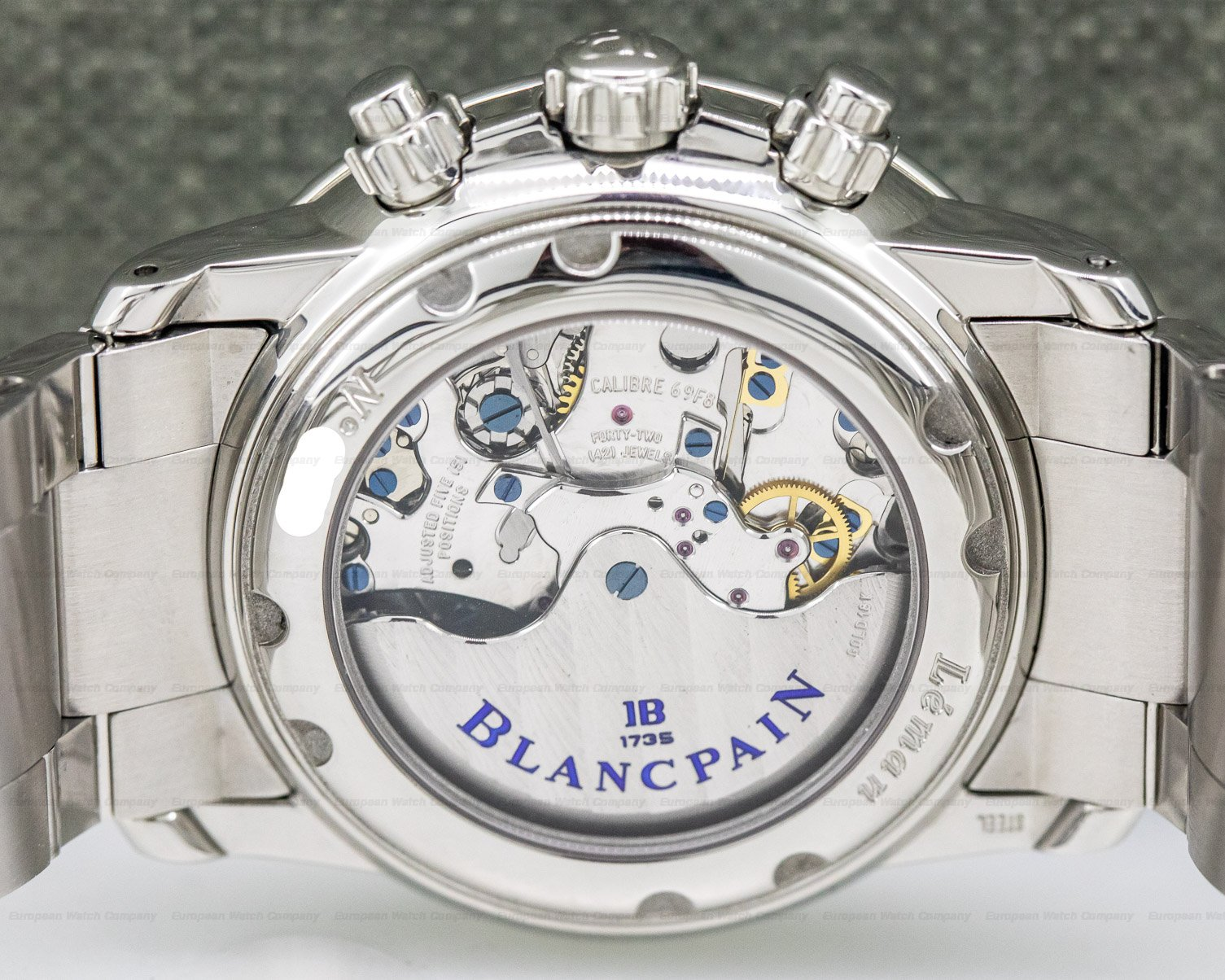 Blancpain 2885F-1130-71 Flyback Chronograph Big Date SS / SS
