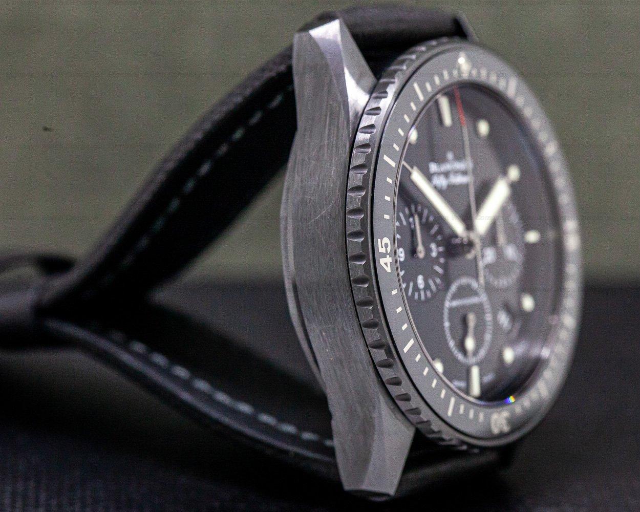 Blancpain 5200-0130-B52A Fifty Fathoms Bathyscaphe Flyback Chronograph Ceramic