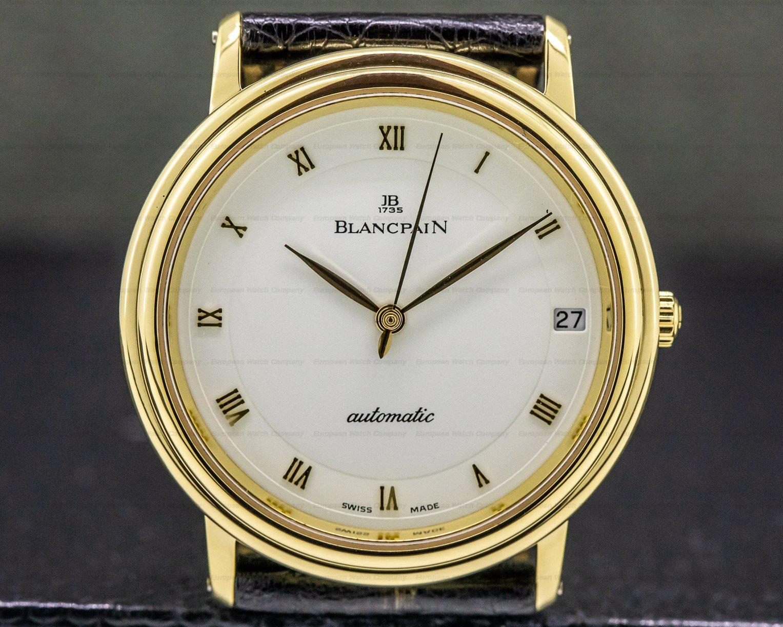 Blancpain 6223-3642-55 Ultra Slim Automatic 18K Yellow Gold 33.5MM
