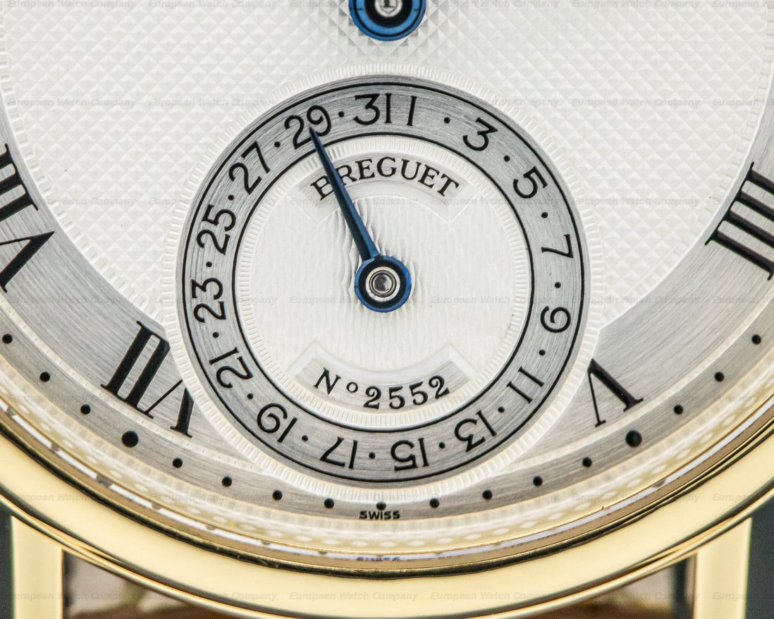 Breguet 3137BA/11/986 Classique Power Reserve Moon 18K Yellow Gold
