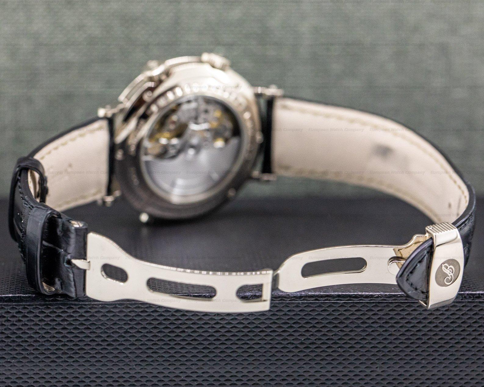 """Breguet 5707BB/12/9V6 GMT Alarm """"Le Reveil du Tsar"""" 18K White Gold"""