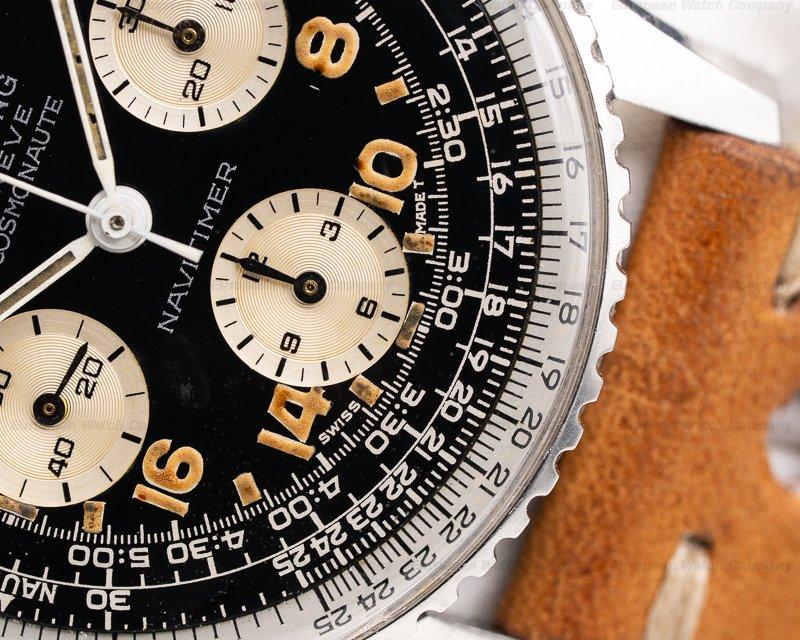 Breitling 809 Vintage Cosmonaute Navitimer 809 Stunning Patina