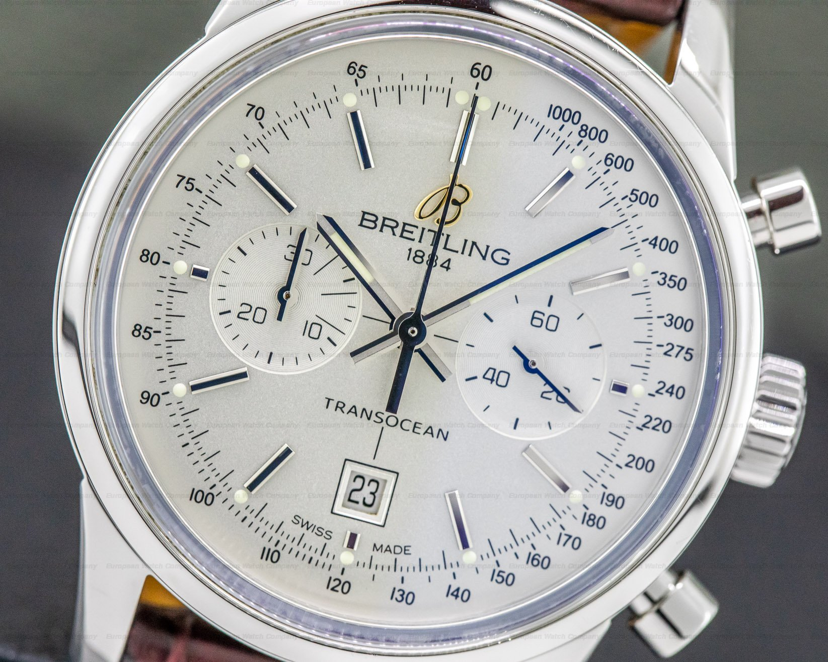 Breitling A41310 Transocean Chronograph SS 38MM