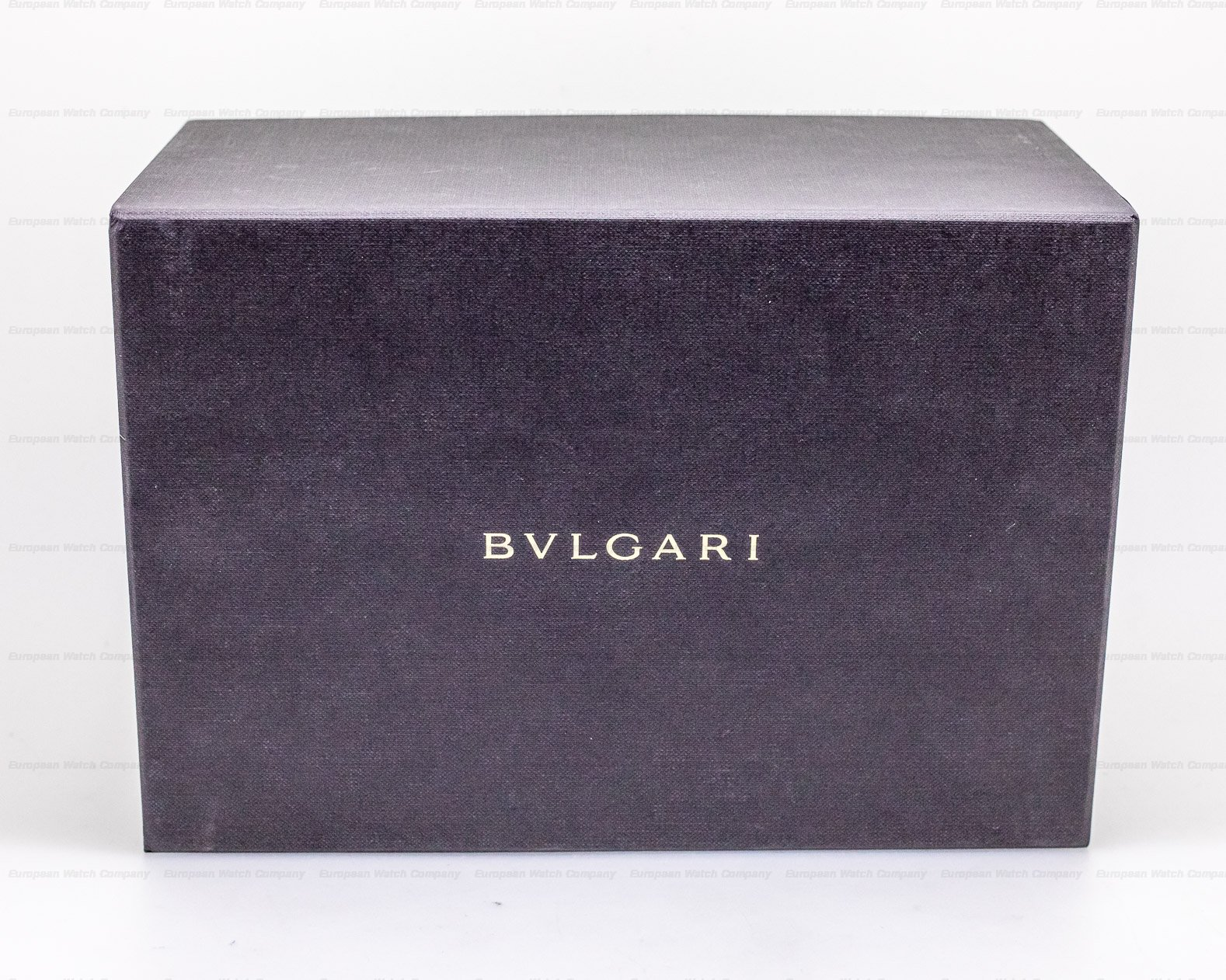 Bvlgari 103011 BGO40C14SSXTAUTO Octo Finissimo Extra Thin SS 40MM SEALED