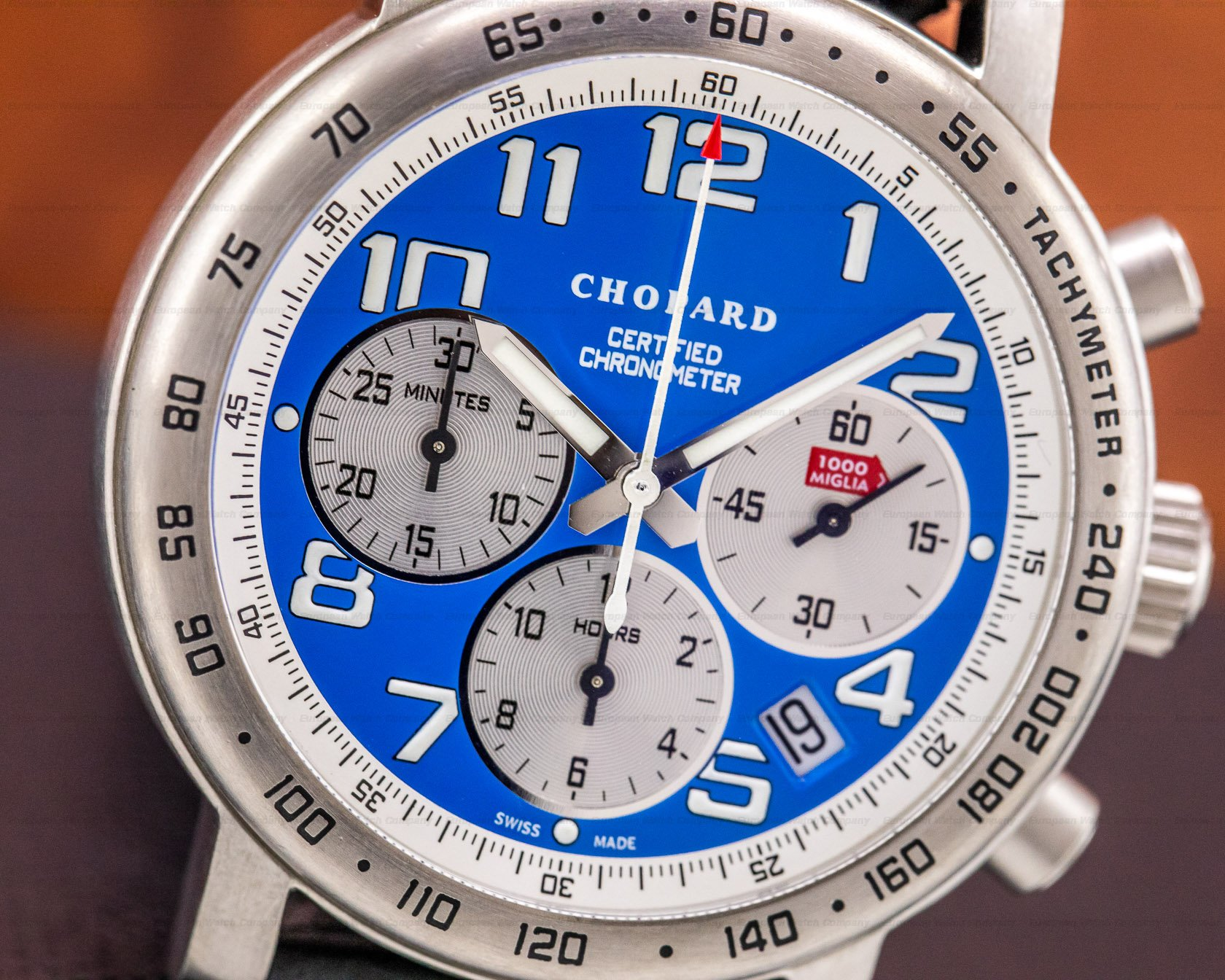 "Chopard 16/8915/103 Mille Miglia Blue Dial Limited Edition ""Vintage Blue"""