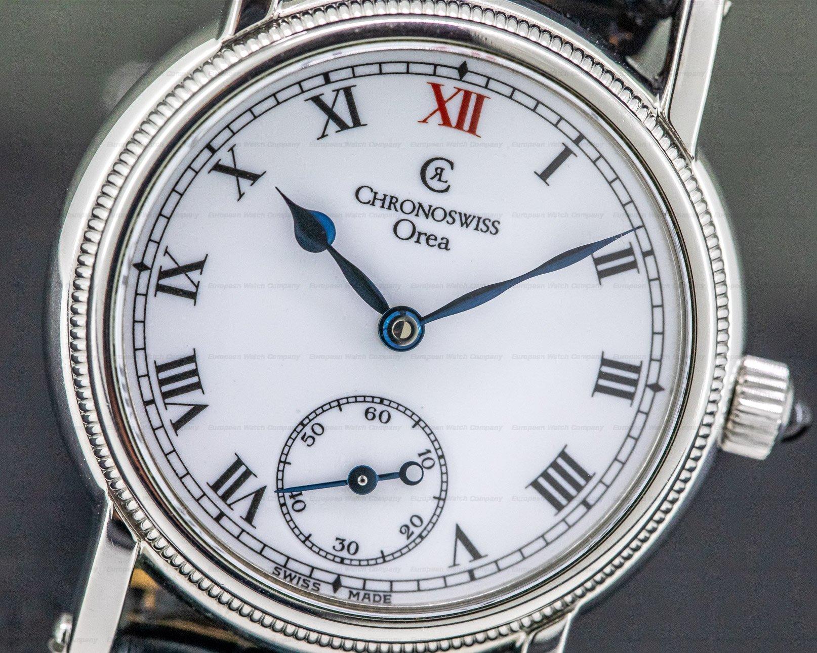Chronoswiss CH 1763 Orea Manual Enamel Dial Ladies 29MM