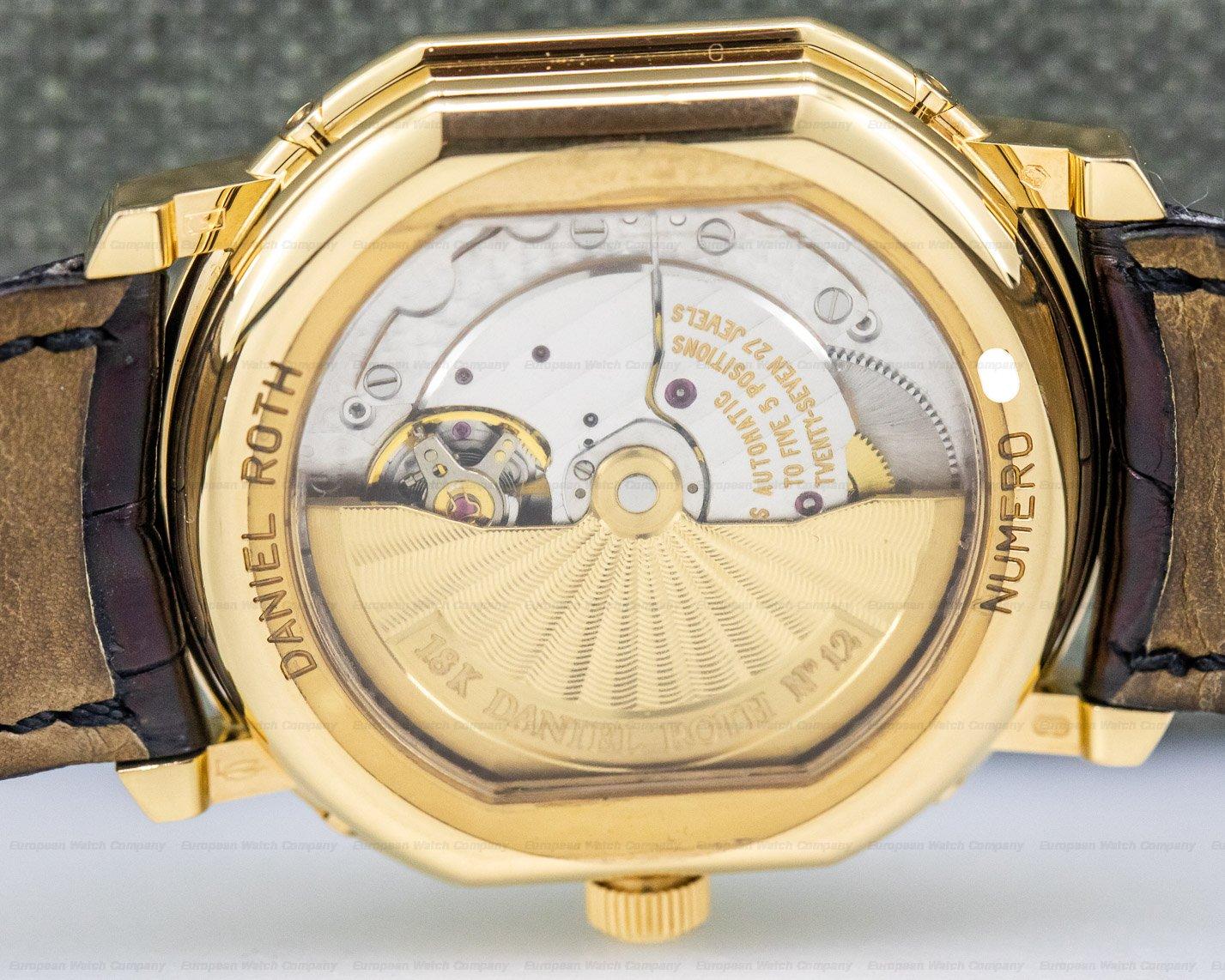 Daniel Roth 118.L.40.011.CN.BA Perpetual Moon phase 18k Yellow Gold
