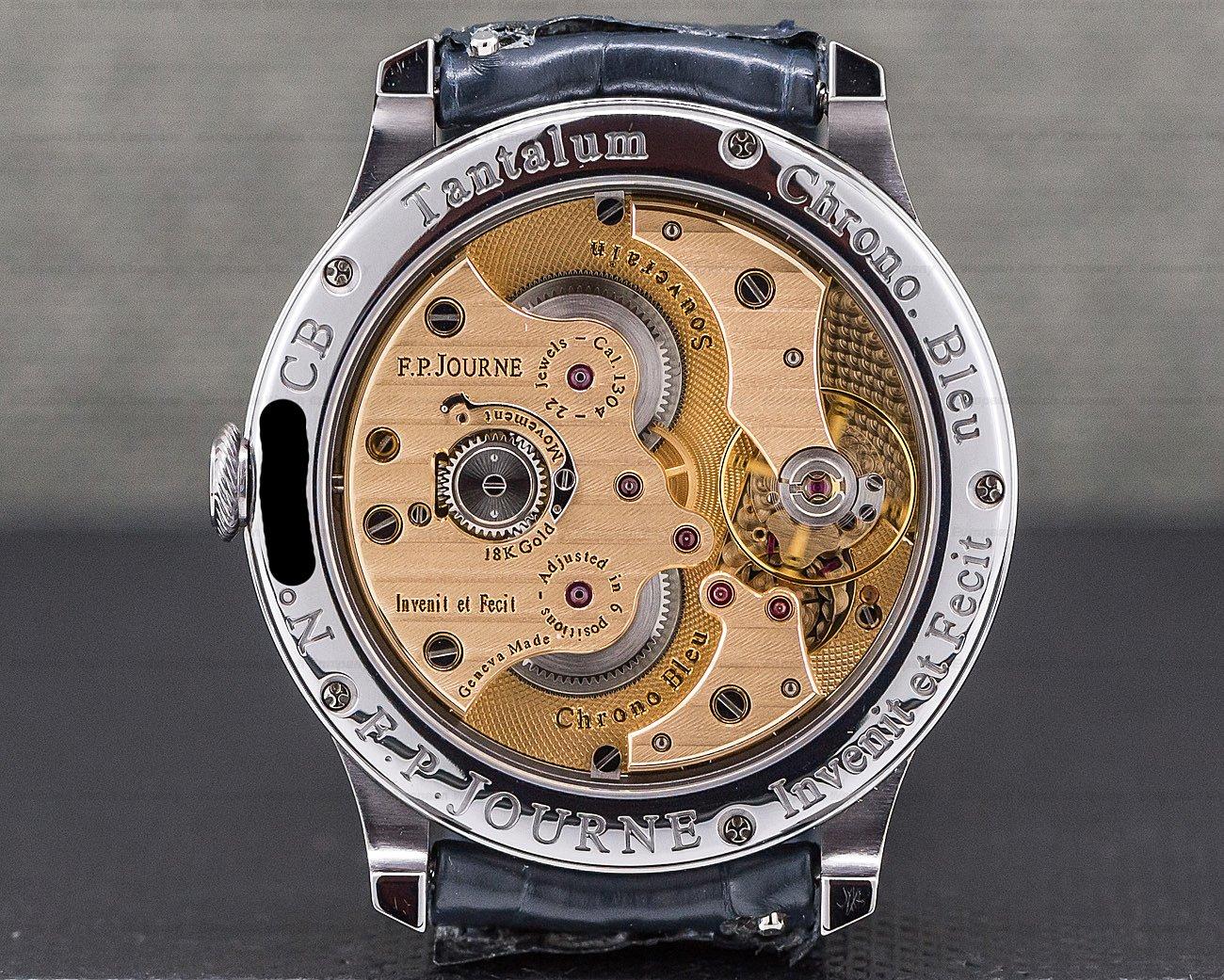 F. P. Journe Chronometre Bleu Chronometre Bleu Tantalum Blue Dial