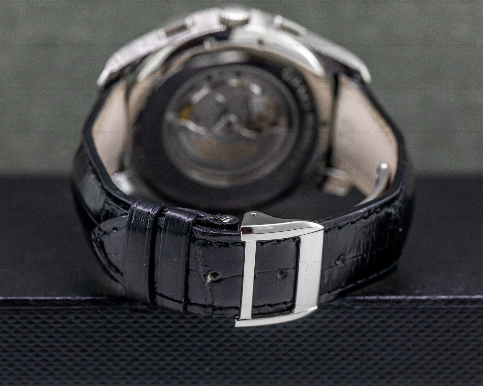 Girard Perregaux 49805-11-152-11A World Time WW.TC Chronograph SS / Silver Dial