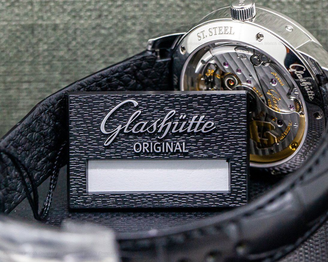 Glashutte Original 100-02-13-02-04 Senator Perpetual Steel Silver Dial