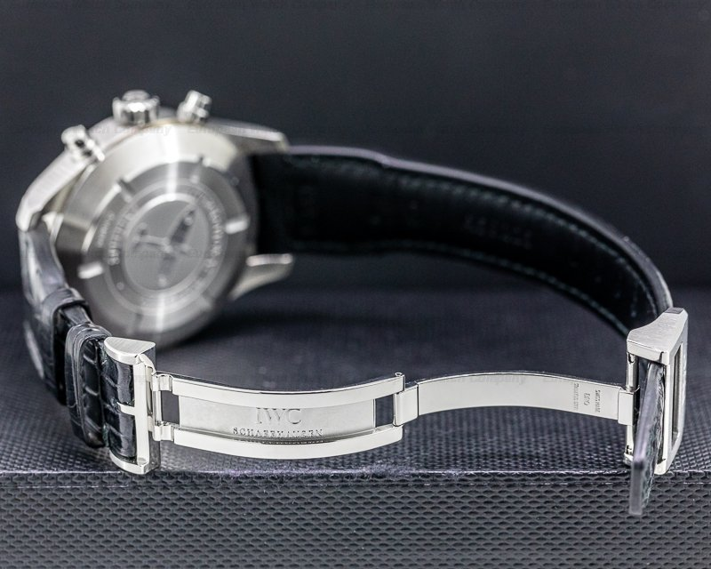 IWC IW387802 Pilot Spitfire Chronograph SS Grey Dial