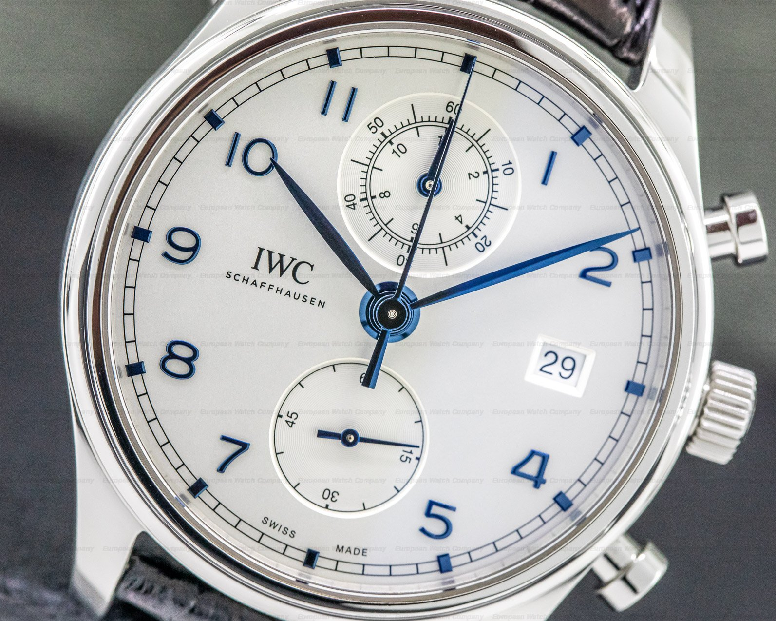 IWC IW390302 Portugieser Chronograph Classic SS
