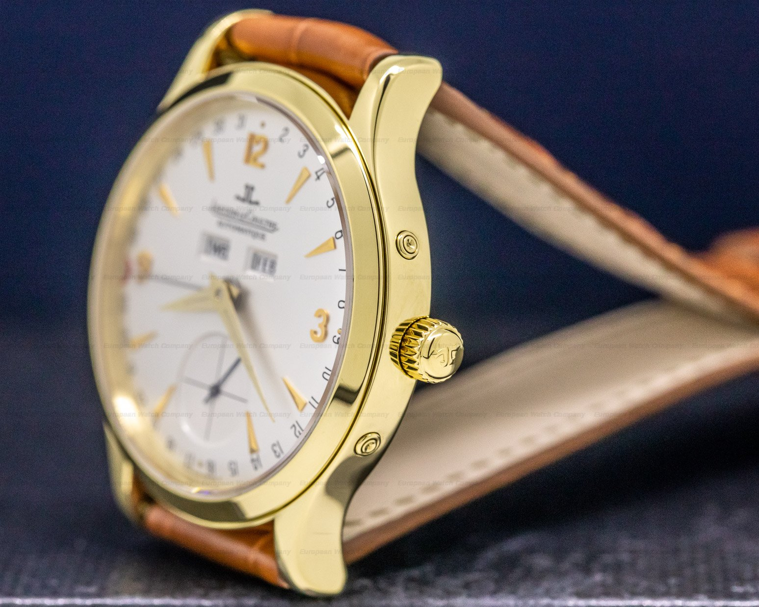 Jaeger LeCoultre 140.240.872 B Master Date 18K Yellow Gold