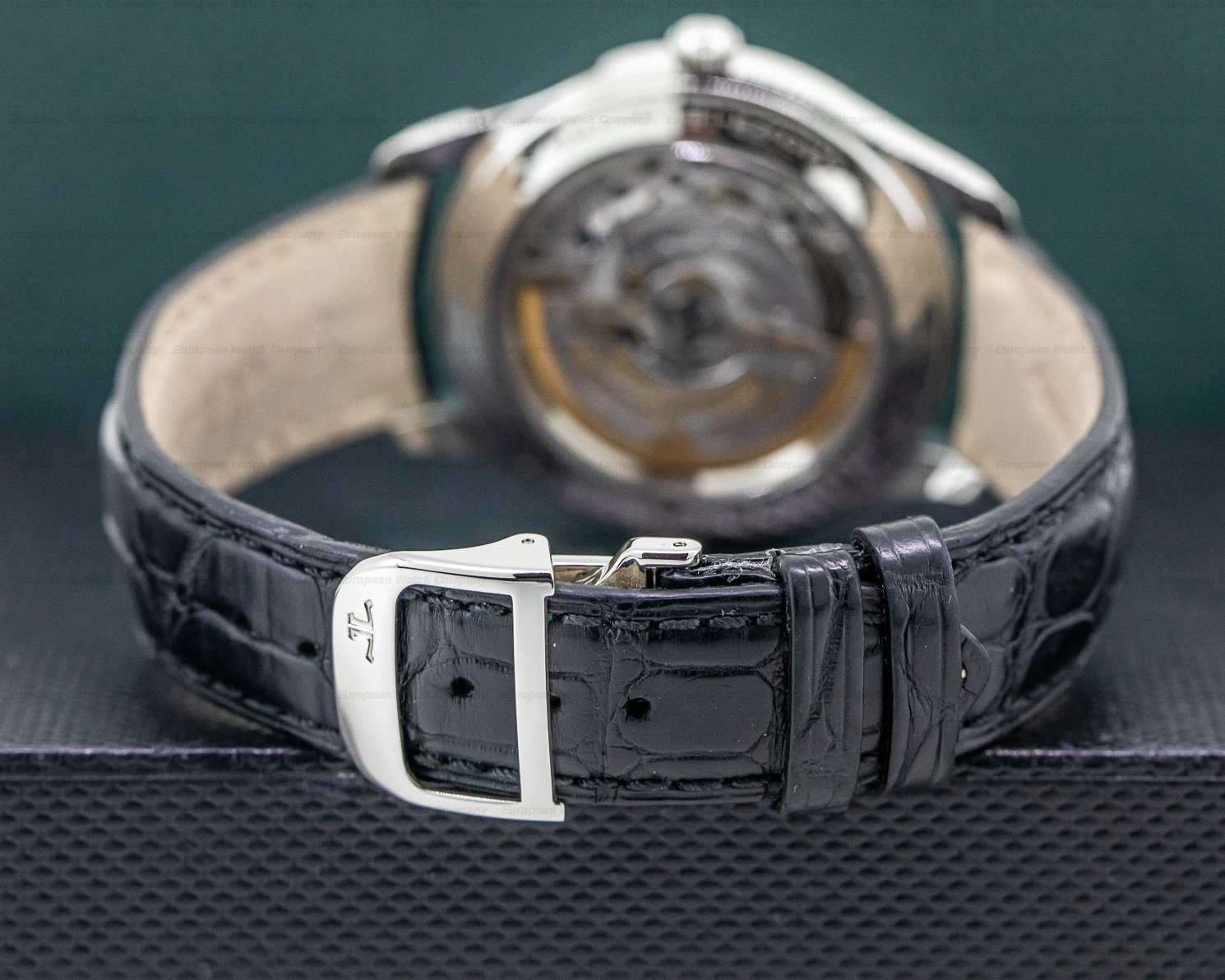 Jaeger LeCoultre 154.84.70 Master Control Automatic SS Black Dial NOVELTY