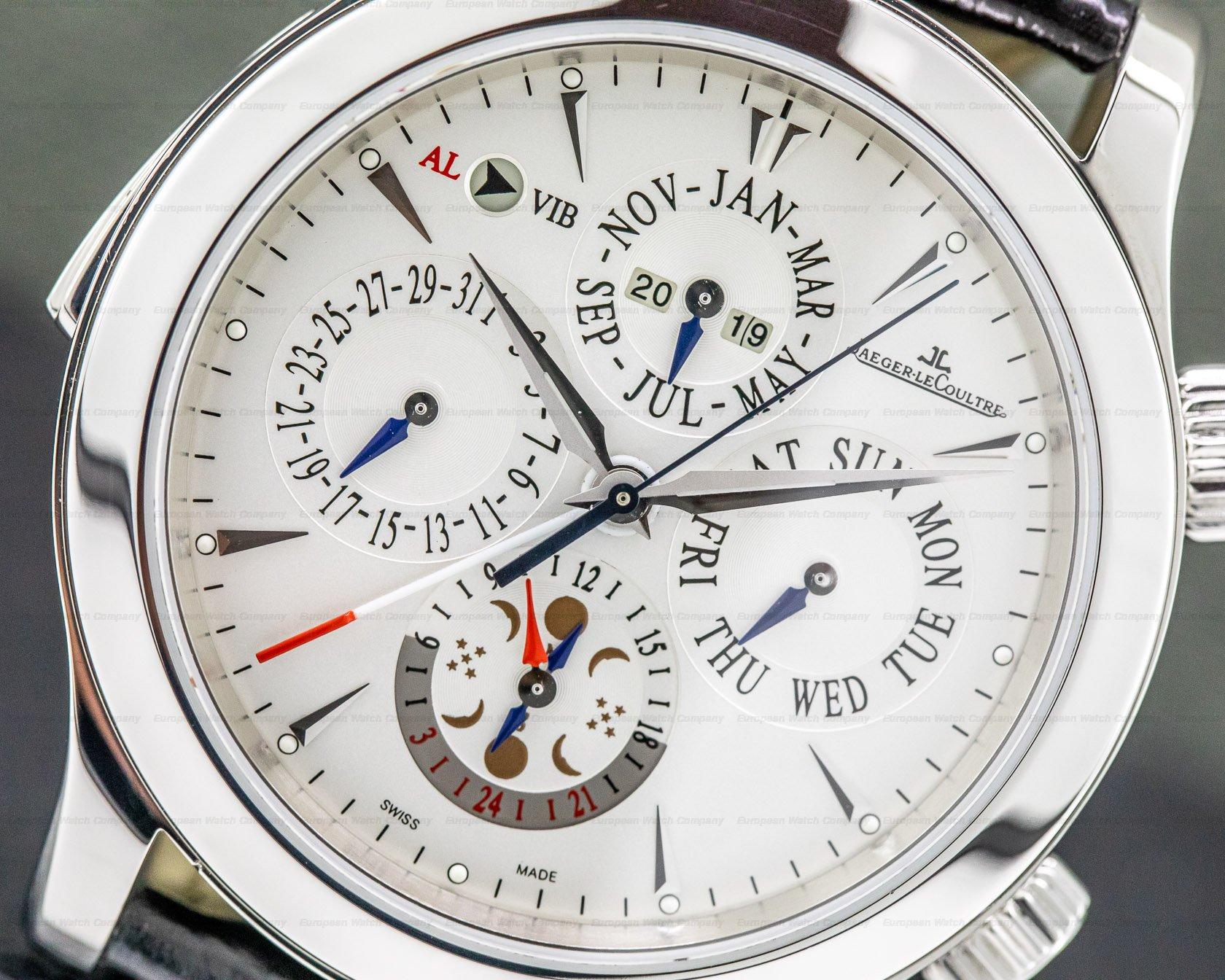 Jaeger LeCoultre Q163842A Master Grand Reveil Perpetual Calendar SS