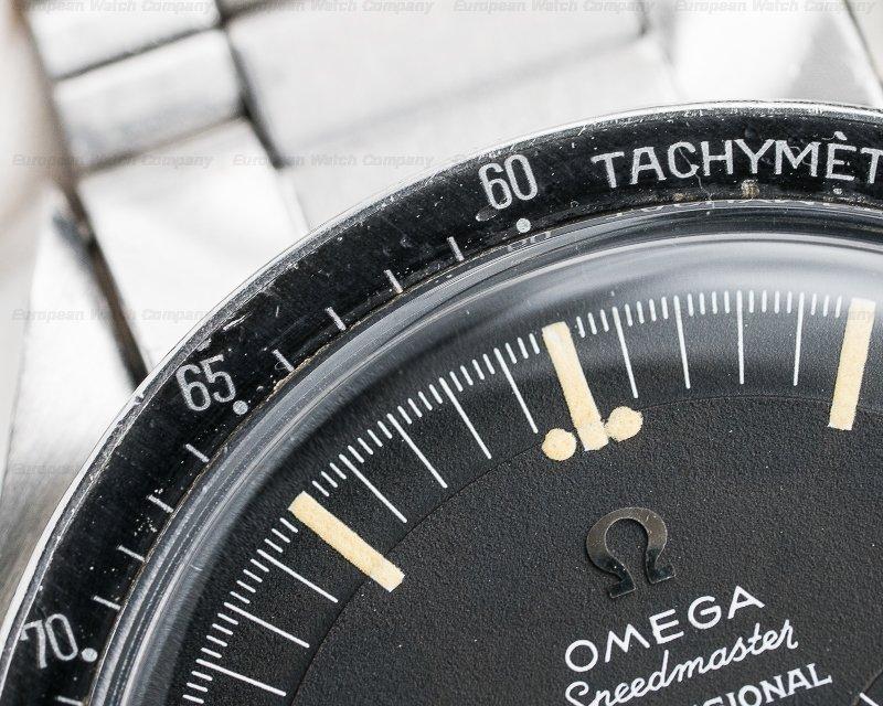 Omega 105.012-65 Vintage Speedmaster Professional SS / 1506 Bracelet VERY NICE