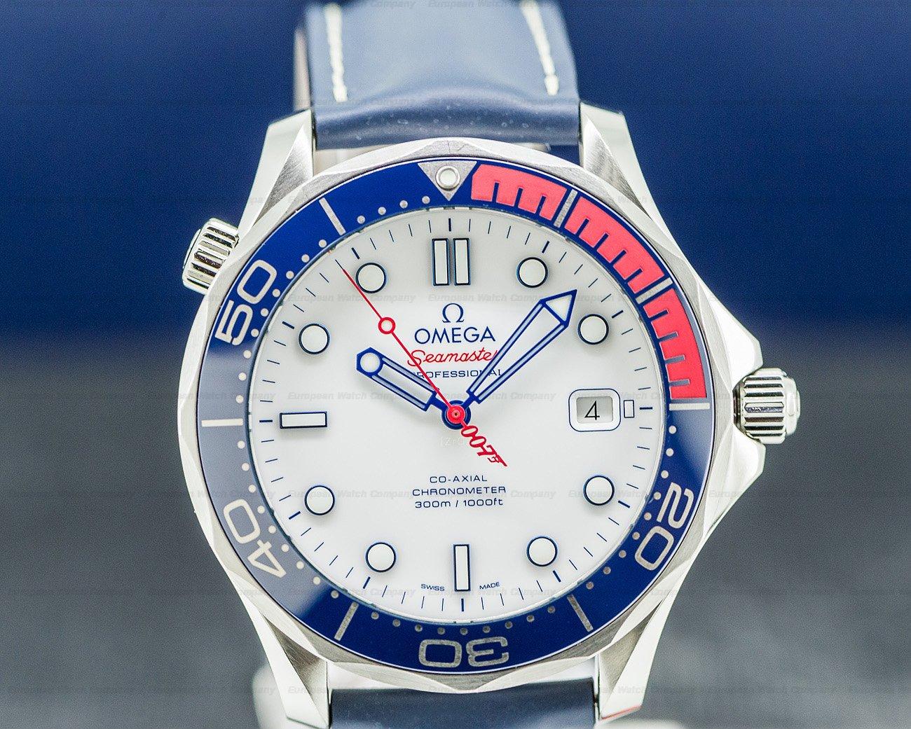 Omega 212.32.41.20.04.001 Seamaster 300m Commander 007 James Bond 41mm LIMITED