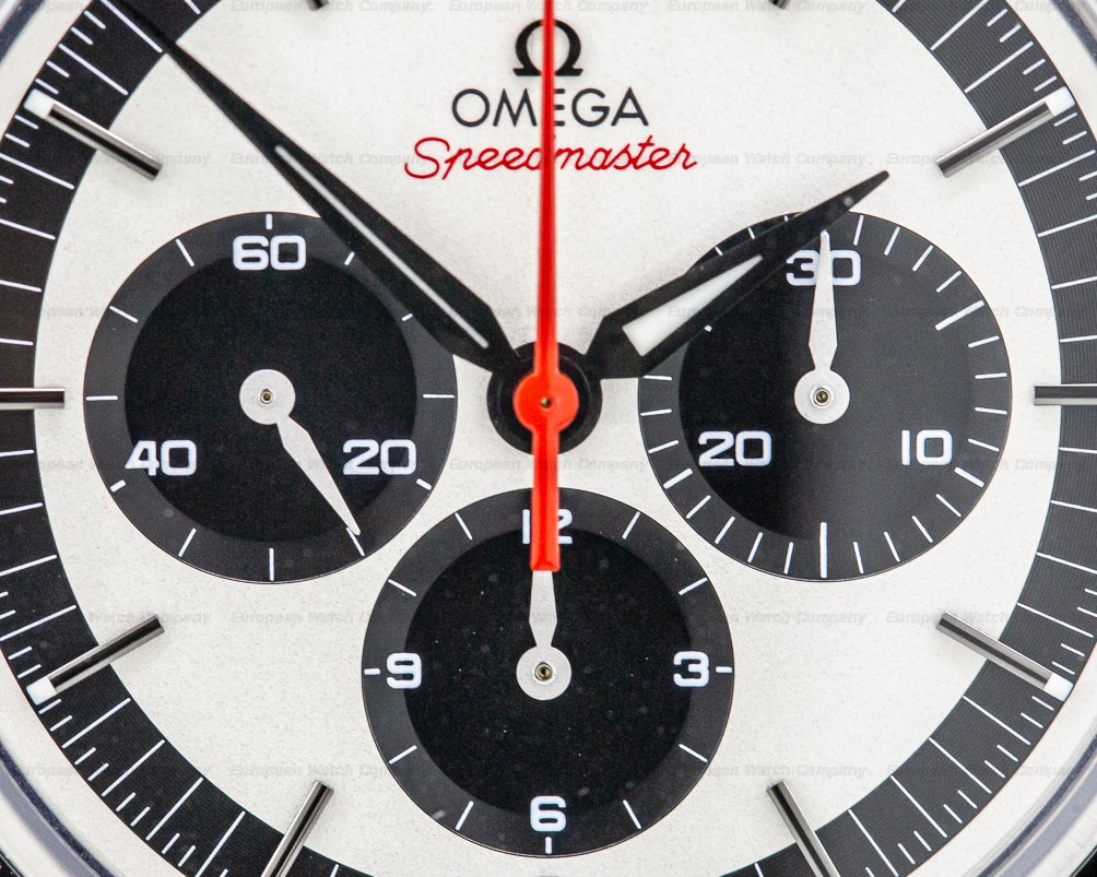 Omega 311.32.40.30.02.001 Speedmaster CK 2998 Pulsation Dial Panda
