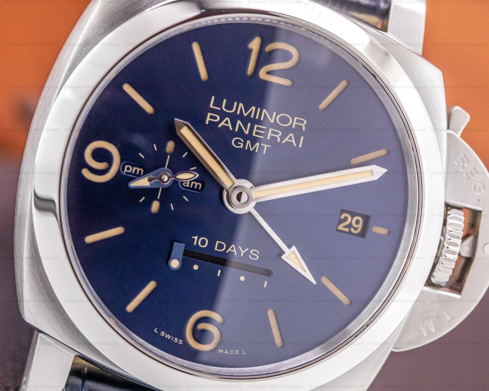 "Panerai PAM00986 Luminor 1950 10-Days GMT ""Design Miami"" Limited Edition"