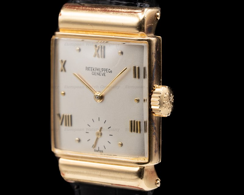 Patek Philippe 1438 Vintage Reference 1438 Yellow Gold