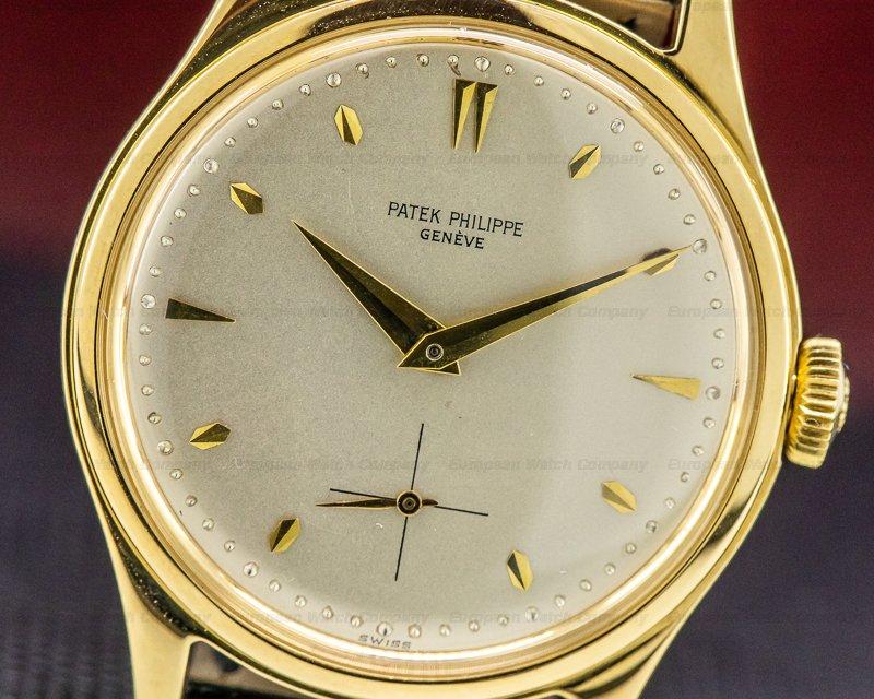 Patek Philippe 2509 Calatrava 2509 Yellow Gold circa 1960