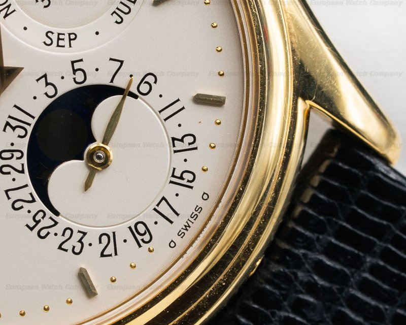 Patek Philippe 3940J-001 Perpetual Calendar 18K Yellow Gold EARLY VARIANT