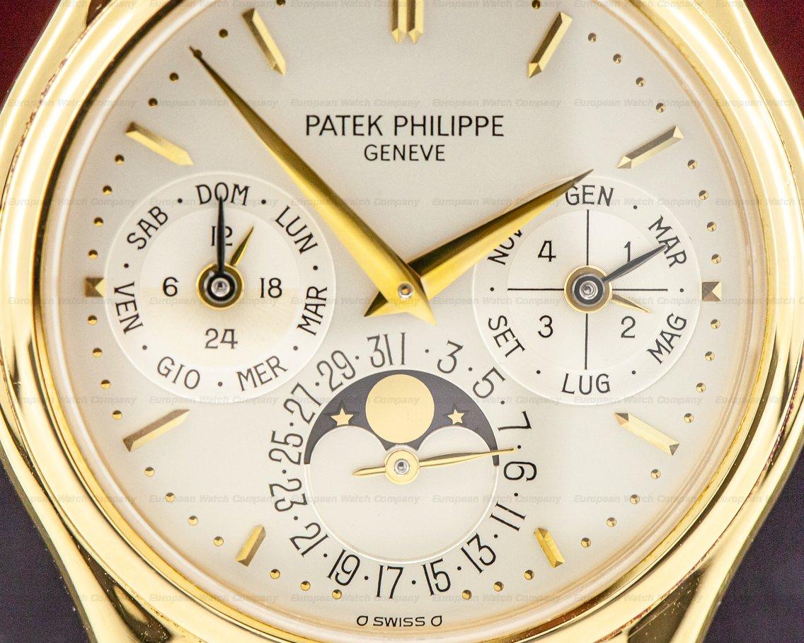 Patek Philippe 3940J Perpetual Calendar 18K Yellow Gold