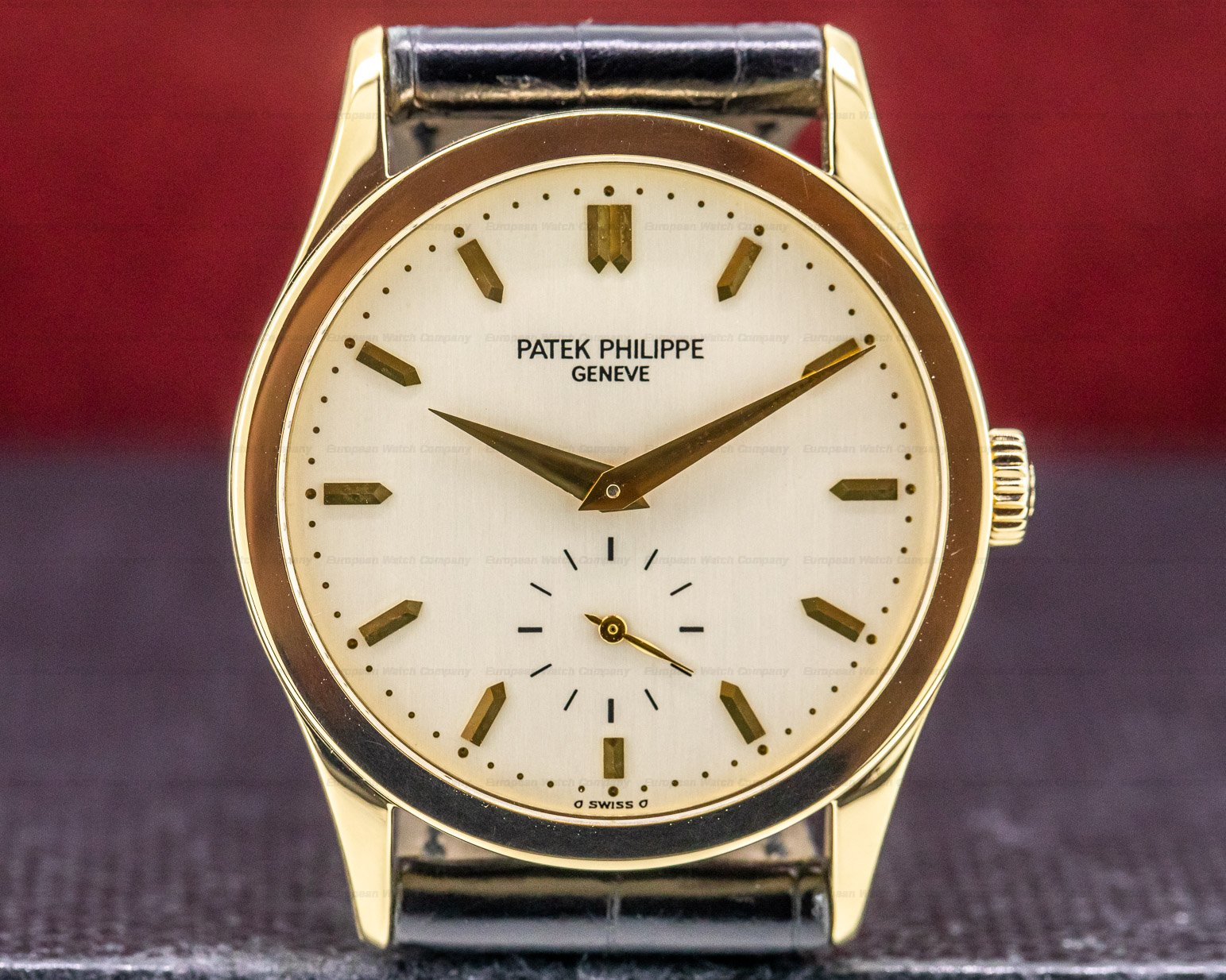 Patek Philippe 5096 Calatrava Manual Wind 18K Yellow Gold