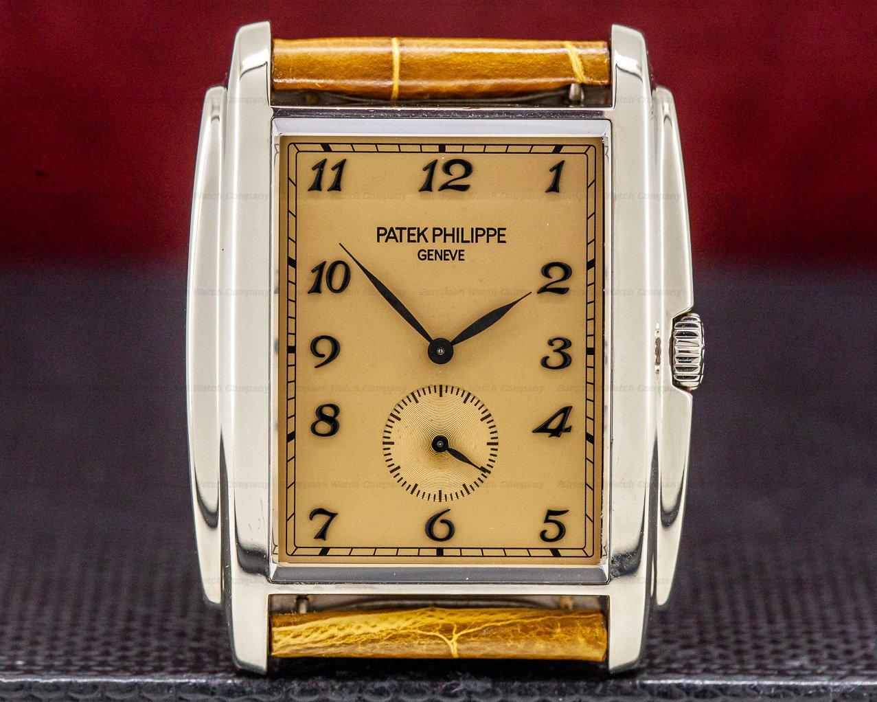 Patek Philippe 5124G-001 Gondolo 18K White Gold Manual Wind