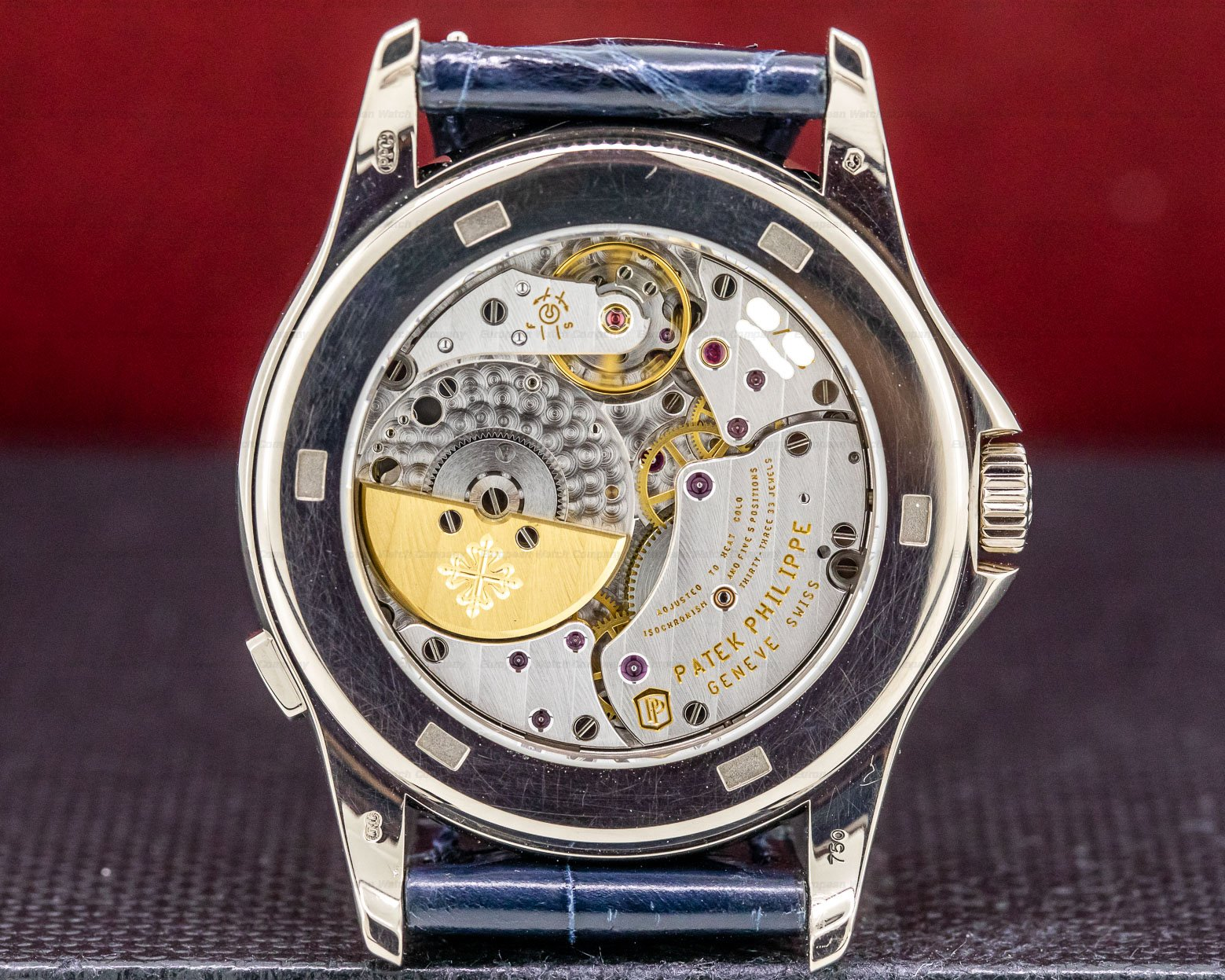 Patek Philippe 5130G-001 World Time 18K White Gold