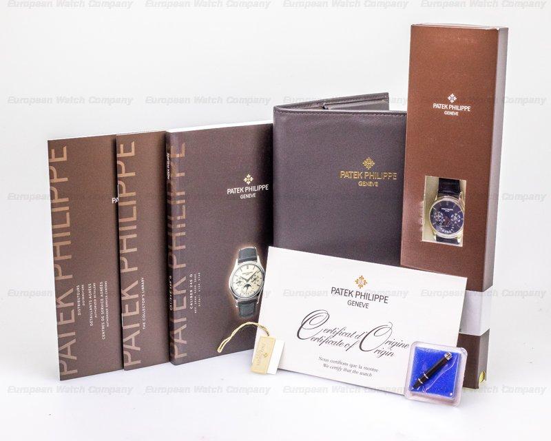 Patek Philippe 5140P-001 Perpetual Calendar Platinum Blue Dial COMPLETE