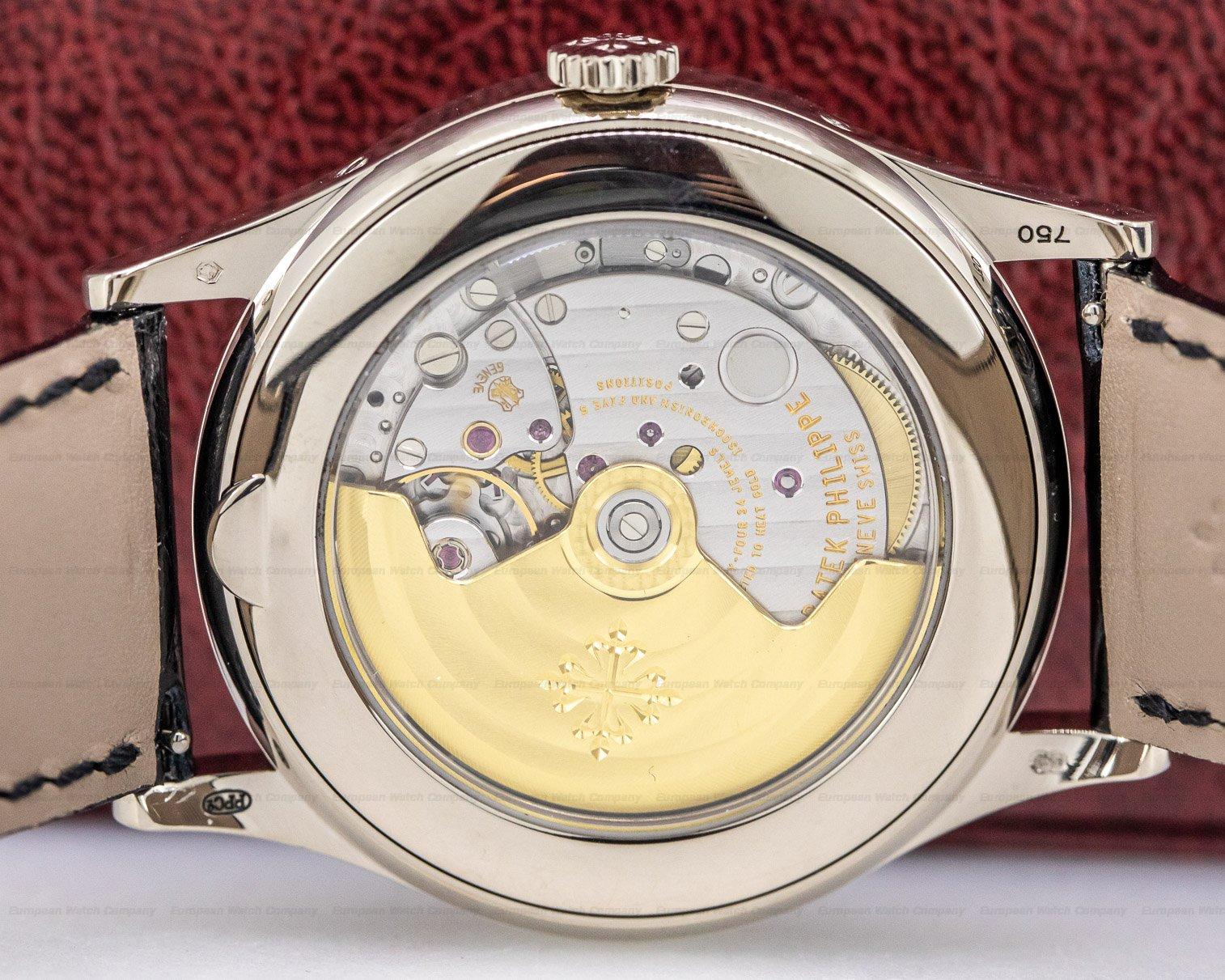 Patek Philippe 5396G-001 Annual Calendar Sector Dial 18K White Gold
