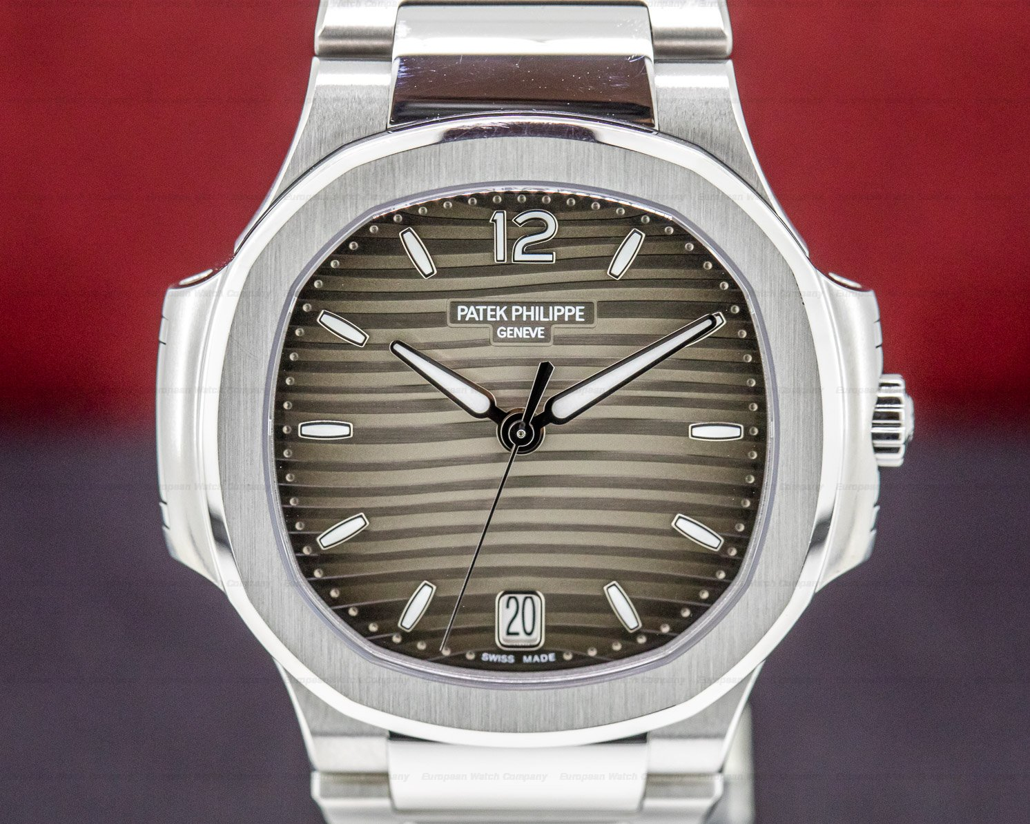Patek Philippe 7118/1A-011 Nautilus Ladies Automatic SS Grey Dial