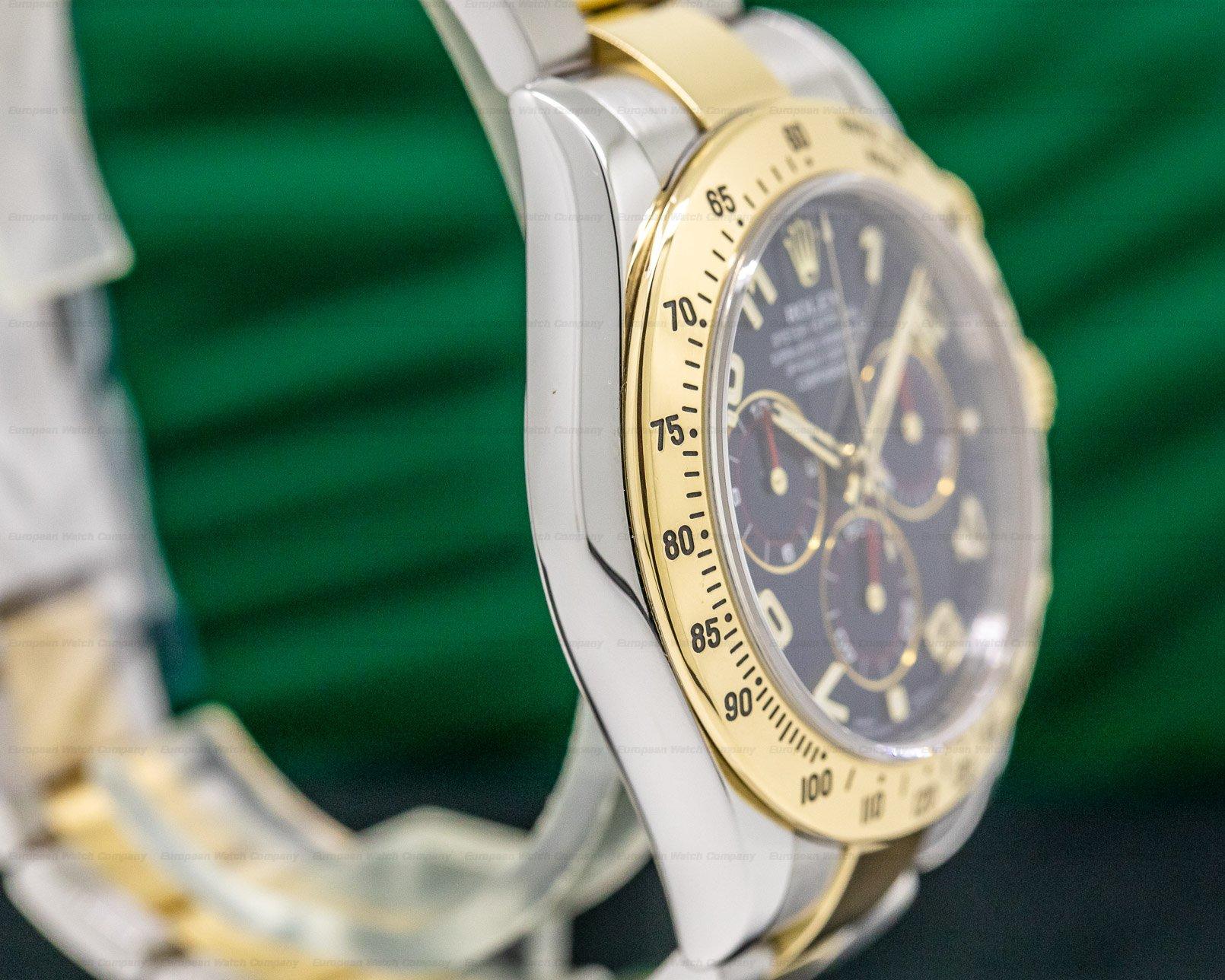 Rolex 116503 Daytona Blue Dial 18K Yellow Gold / SS