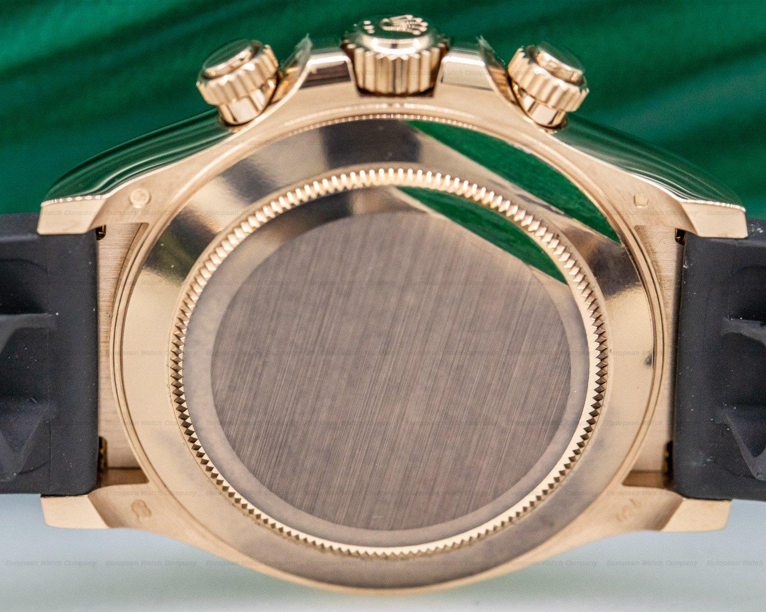Rolex 116515LN Cosmograph Daytona Ceramic 18K Everose Gold / Rose Dial