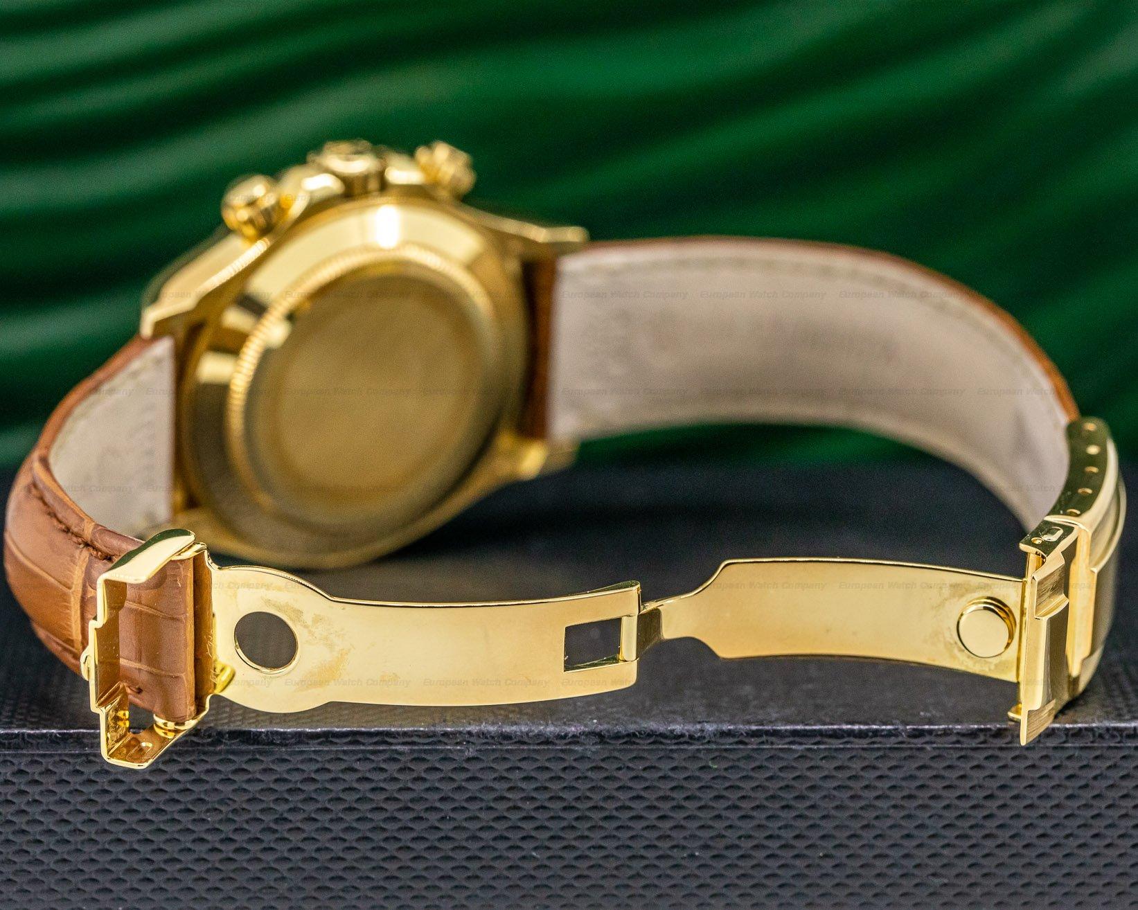 Rolex 116518 Daytona 18K Yellow Gold / Black MOP Dial