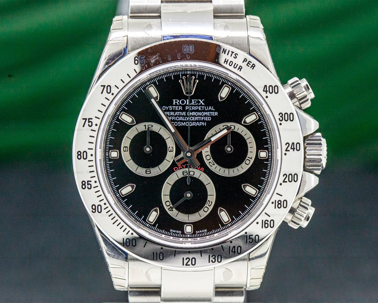 Rolex 116520 Daytona 116520 Black Dial SS NEW OLD STOCK