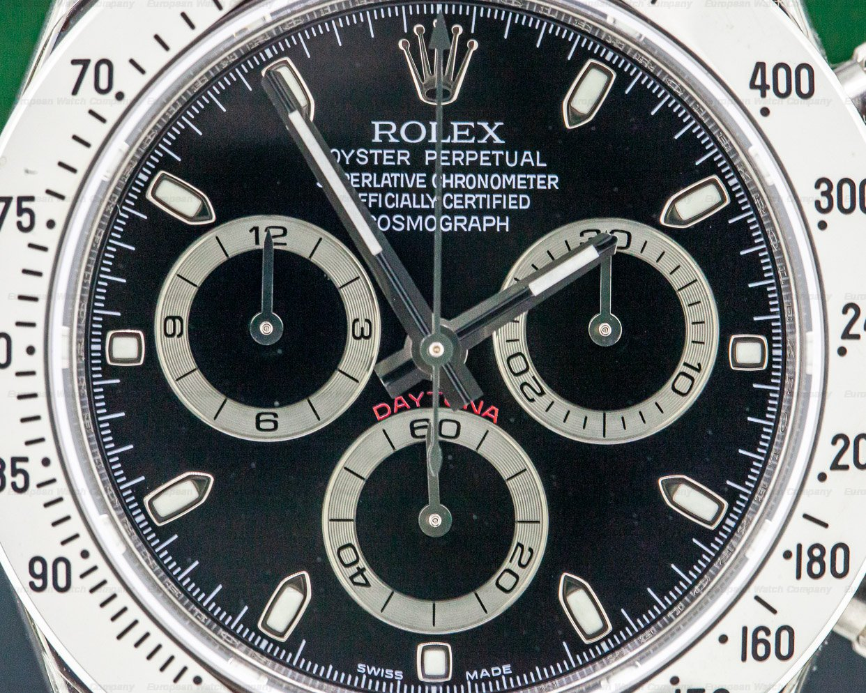 Rolex 116520 Daytona Black Dial SS NEW OLD STOCK