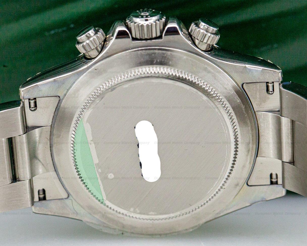 Rolex 116520 Daytona Black Dial SS NEW OLD STOCK