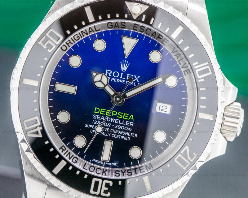 Rolex 116660 Sea Dweller Deep Sea D Blue JAMES CAMERON