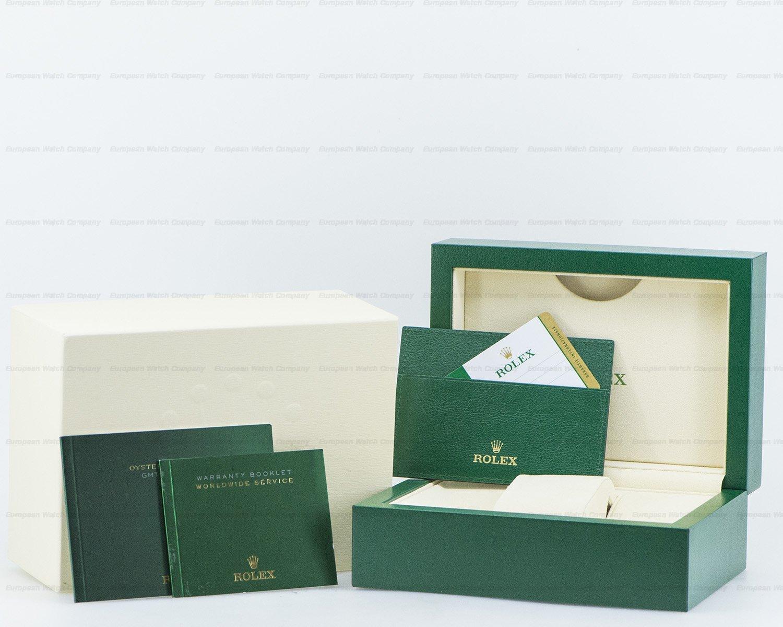 Rolex 116719 BLRO GMT Master II BLUE DIAL RARE 18K White Gold UNWORN